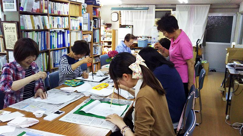 【2019年6月15日(土)】絵手紙講座1