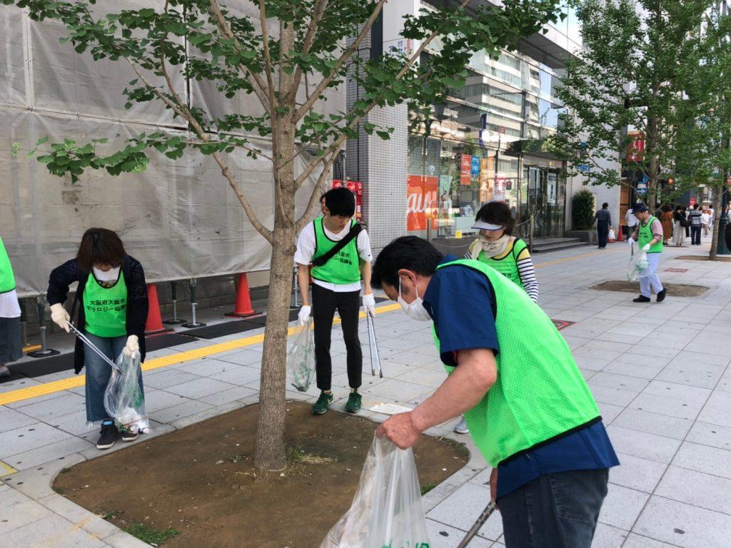 【2019年6月9日(日)】まち美化 G20大阪サミットクリーンアップ作戦 2