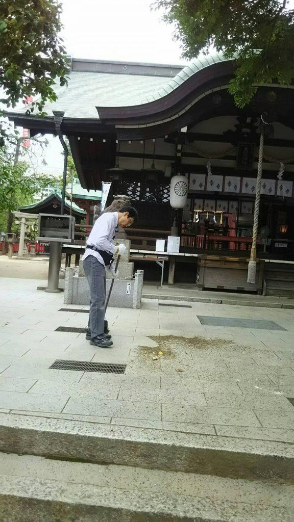 【2019年6月2日(日)】大宮神社清掃奉仕ボランティア 1