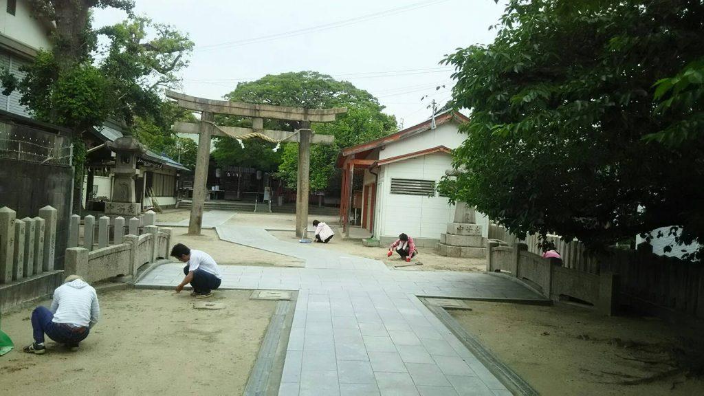 【2019年6月2日(日)】大宮神社清掃奉仕ボランティア 2