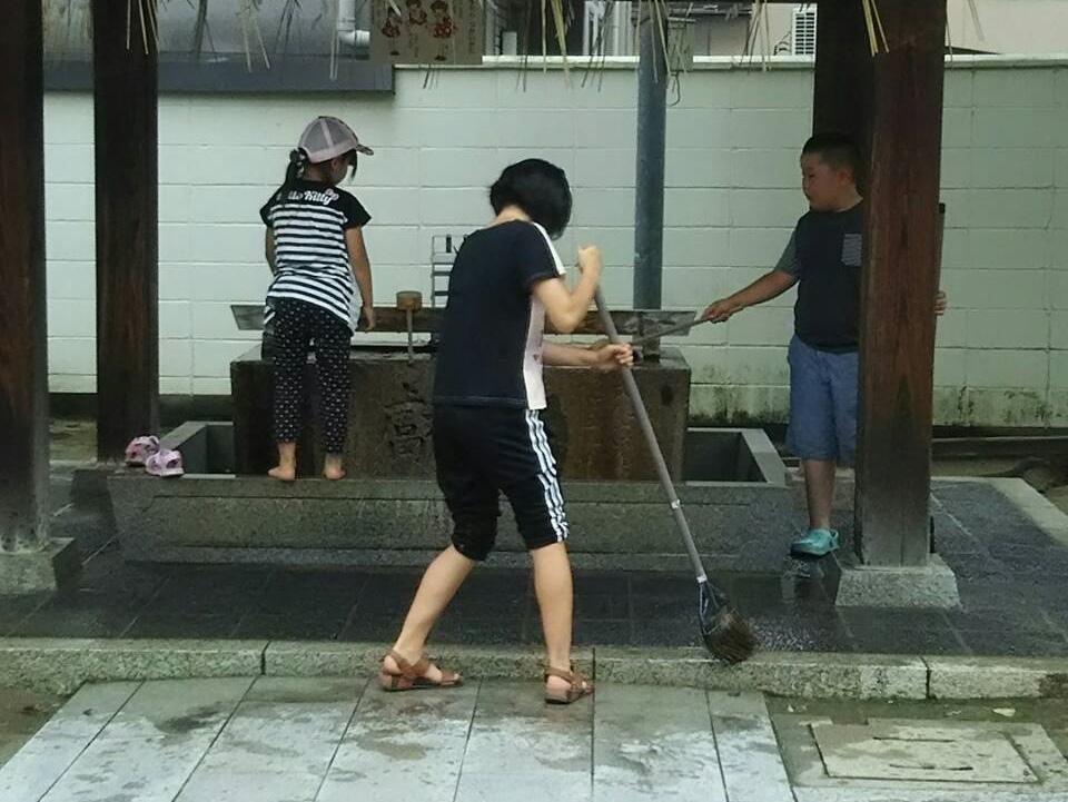 【2019年6月30日(日)】大宮神社清掃奉仕ボランティア2
