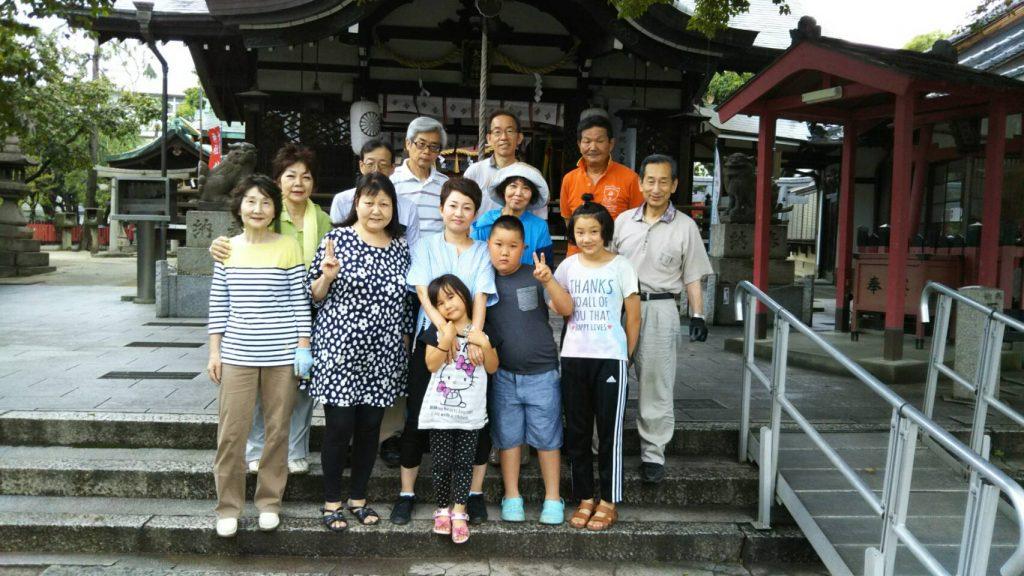 【2019年6月30日(日)】大宮神社清掃奉仕ボランティア6