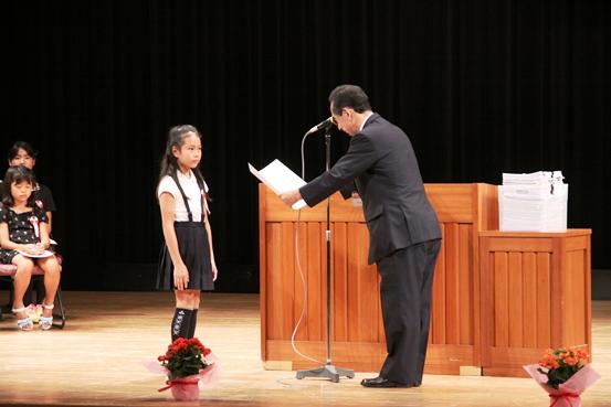 第3回 伝えよう!いのちのつながり入選作文表彰式 写真3