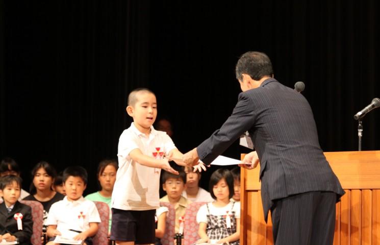 第2回 伝えよう!いのちのつながり入選作文表彰式 写真3