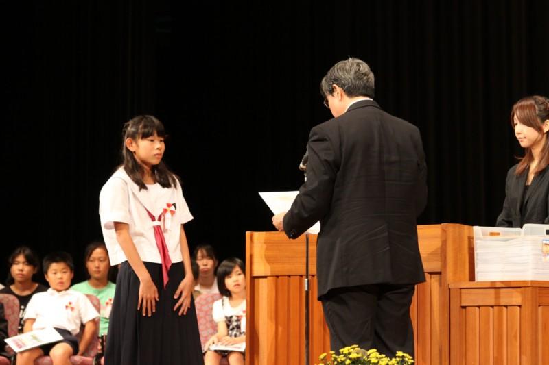 第2回 伝えよう!いのちのつながり入選作文表彰式 写真4