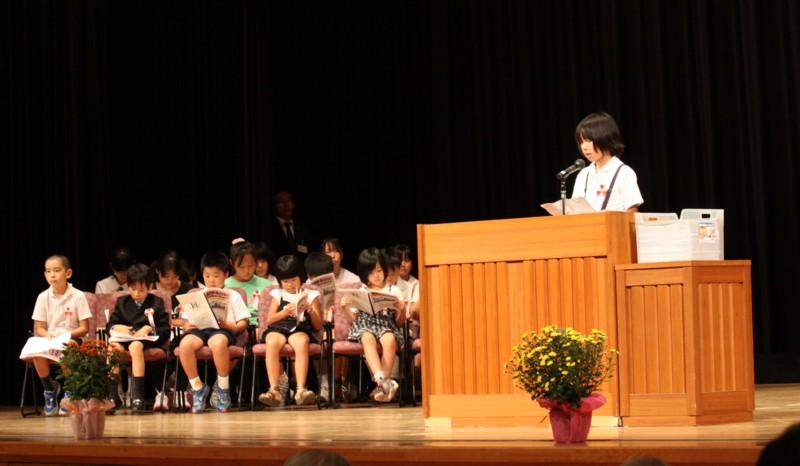 第2回 伝えよう!いのちのつながり入選作文表彰式 写真5
