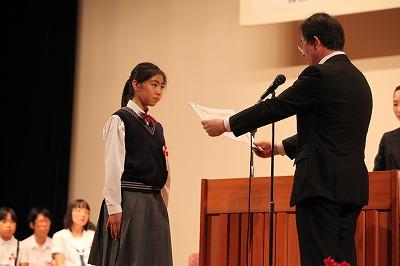 第5回 伝えよう!いのちのつながり入選作文表彰式 写真10