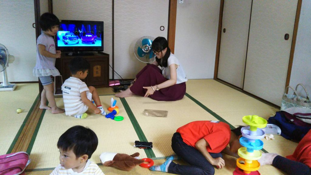 【2019年8月31日(土)】子育てカフェ 3