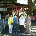 【2020年9月6日(日)】大宮神社清掃奉仕ボランティア 活動風景写真1