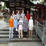 【2020年10月4日(日)】大宮神社清掃奉仕ボランティア 活動風景写真1