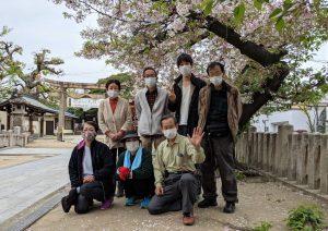 【2021年4月4日(日)】大宮神社清掃奉仕ボランティア 活動風景写真