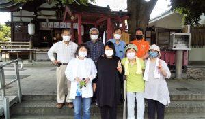 【2021年6月6日(日)】大宮神社清掃奉仕ボランティア 活動風景写真4