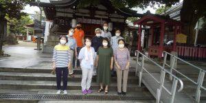 【2021年7月4日(日)】大宮神社清掃奉仕ボランティア 活動風景写真3