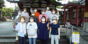 【2021年8月1日(日)】大宮神社清掃奉仕ボランティア 活動風景写真5