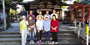 【2021年10月3日(日)】大宮神社清掃奉仕ボランティア活動風景写真7
